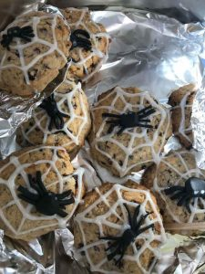 Halloween cakes and cookies