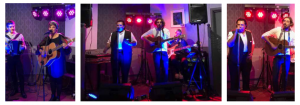 Opening night at 113 kitchen and Bar with music from various members of Lea's family.