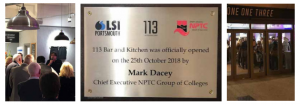 113 Kitchen and Bar is Now Open