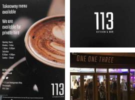 113 Kitchen and Bar