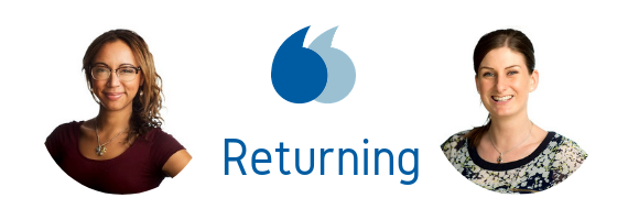 Returning staff