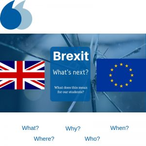 Brexit what next for students