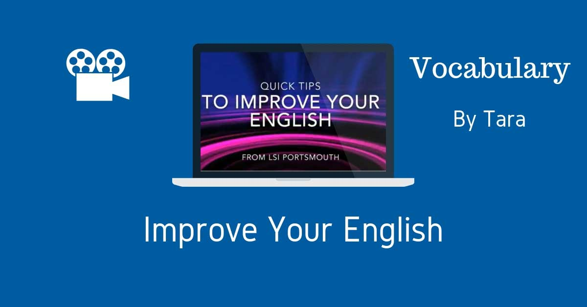 Improve your English with songs