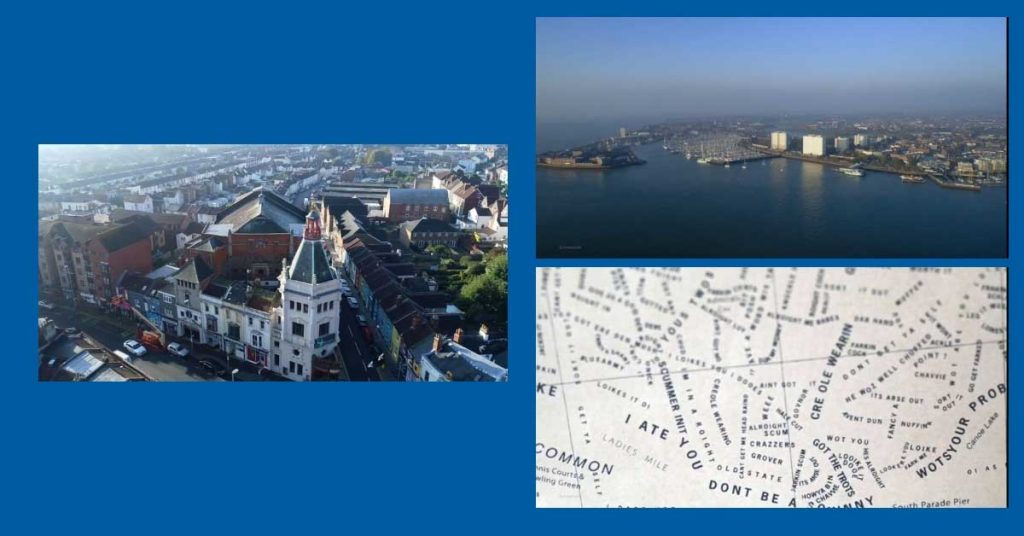 Views of portsmouth and the portsmouth dialect