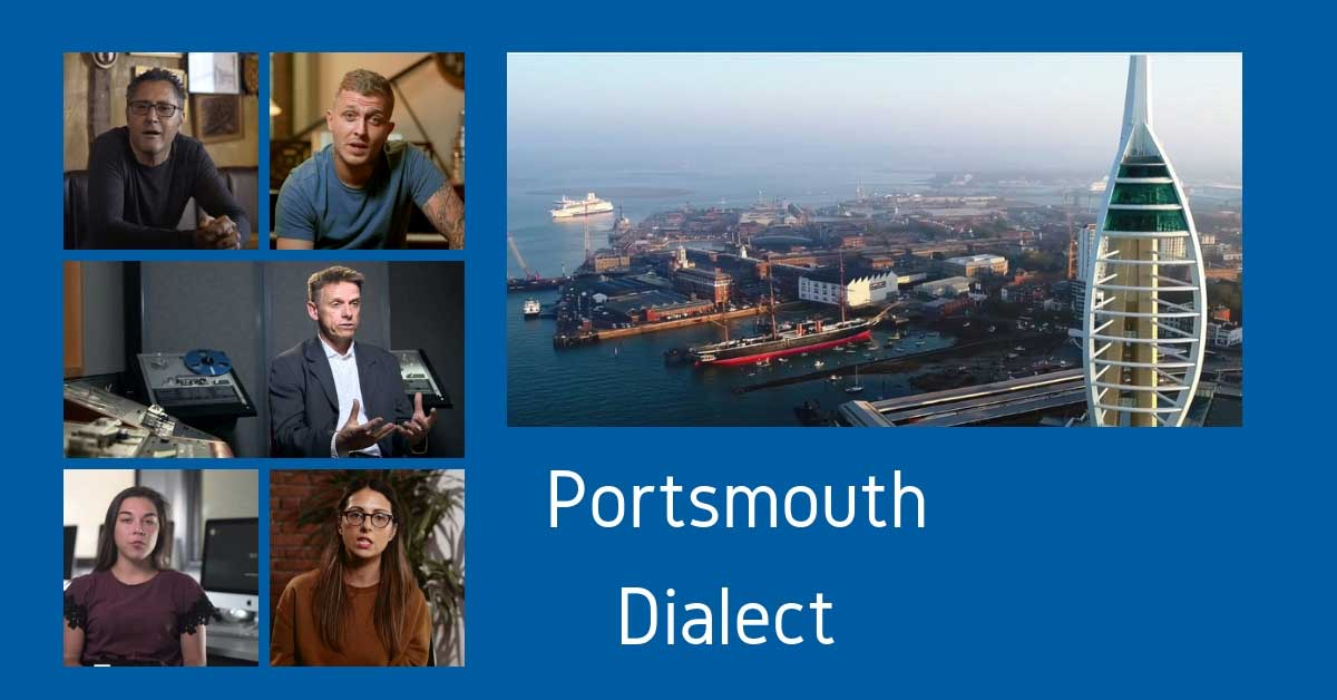 Views of portsmouth and the dialect of portsmouth