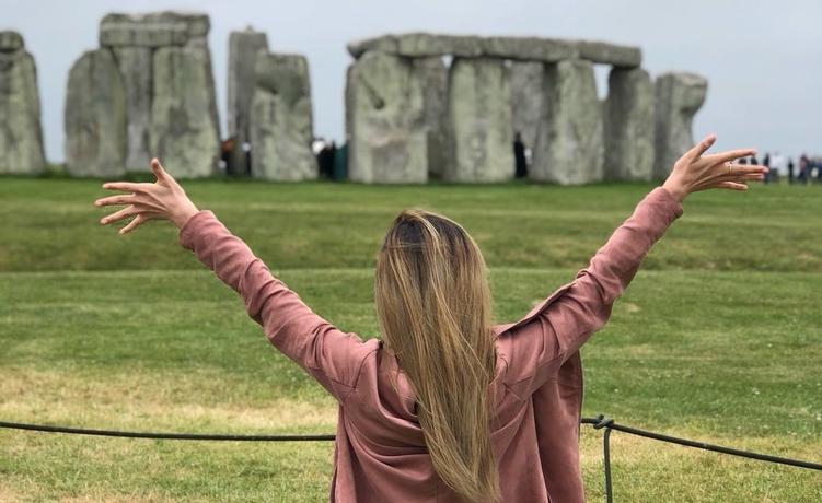Stonehenge student