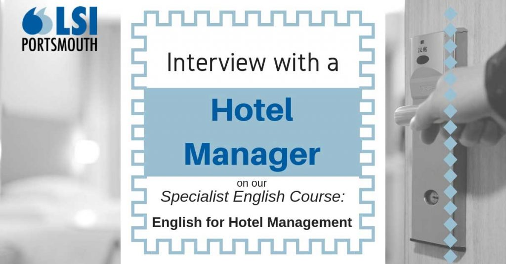 English for hotel managers