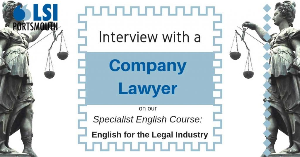 Interview with a company lawyer