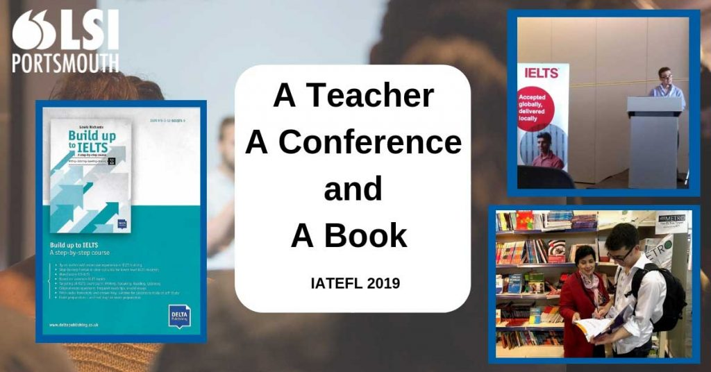 Lewis at IATEFL 2019