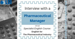 Interview with a pharamceutical manager
