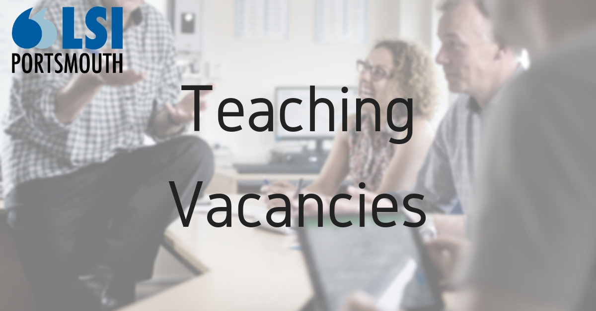 looking for teachers