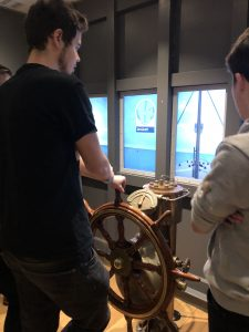 LSI Portsmouth students sail ship at Titanic museum