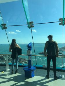 LSI Portsmouth students enjoy view from Spinnaker