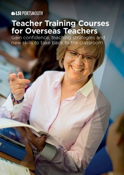 teacher training brochure LSI Portsmouth Front page