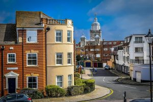 Residential houses in Old Portsmouth