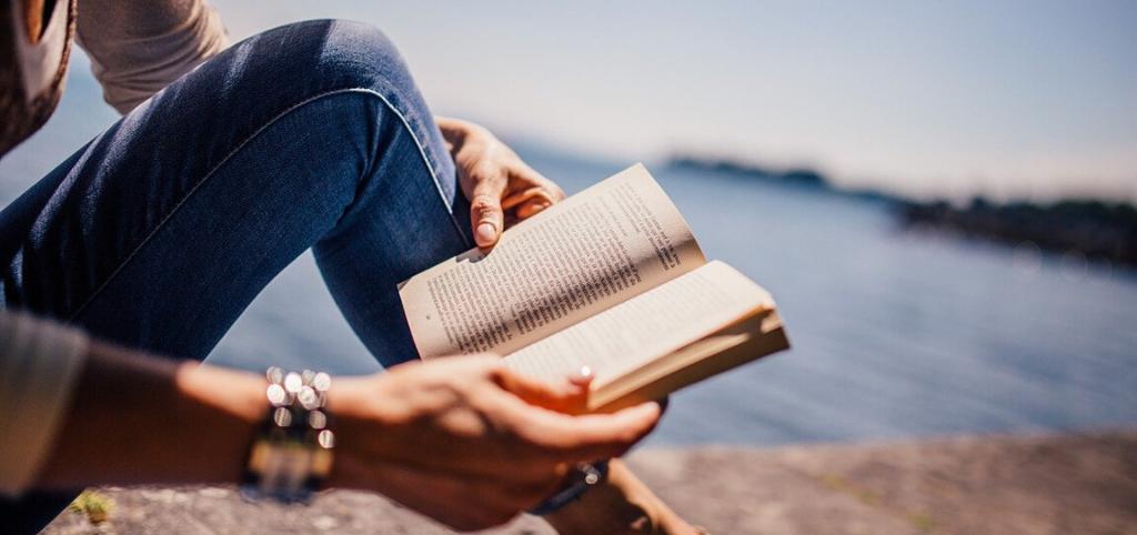 girl reading top ten books to learn english